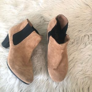 Luid Suede Leather Bootie